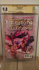 Teen Titans #1 Cgc 9.8 Autographed by Scott Lobdell