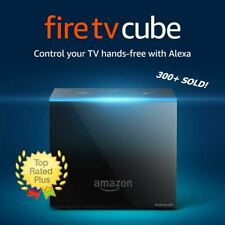 NEW Amazon Fire TV Cube 16GB Streaming Media Player + 2nd Gen Alexa Voice Remote
