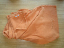 The Company Store 100% cotton basket weave blanket ORANGE double/full/queen