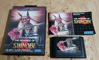 The Revenge Of Shinobi, Sega Mega Drive, PAL, Complete,VGC,Rare,Tested,fast post
