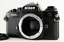 N.MINT!!  Nikon FM3A 35mm SLR Film Camera Black Body From JAPAN