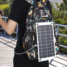 Ultra Light Outdoor Solar Panel Charger Camping Hiking For Cellphone Camera GW