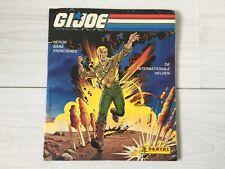 GIJOE 1987 vintage PANINI complete album book GI JOE hasbro