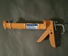 Dripless Ratchet Rod Cradle Frame Caulking Gun, Excellent, Free shipping!