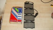 FORD GRANADA 1982/85 EBC STANDARD FRONT BRAKE PADS P/N DP437 QUALITY BRAKE PADS