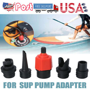 1pc Air Valves Adaptor Air Connector Inflatable Conversion Connector for Kayak D