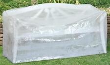 Schutzhülle Wehncke Classic für Gartenbank 160x75x80cm transparent
