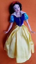 "Disney Franklin Heirloom Dolls Snow White Porcelain Doll w/Tag 12"""