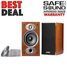 POLK AUDIO RTIA1 BOOKSHELF SPEAKERS | CHERRY RTI-A1 PAIR