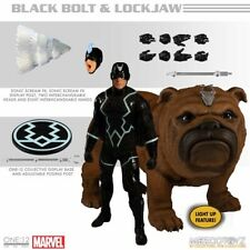 BLACK BOLT and LOCKJAW - Mezco One:12 Collective IN STOCK USA
