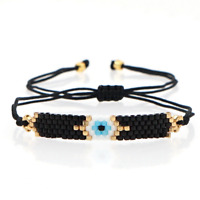 MIYUKI Bracelet Delica Turkish Evil Eye Bracelets Fashion Handmade Women Jewelry