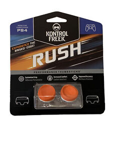 KontrolFreek Rush Thumbsticks for PS4 PS5 Orange FPS Freek PlayStation