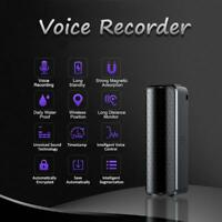 Mini Secret Audio Voice Recorder Can Hidden Magnetic New Digital Dictaphone X4V3