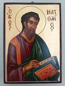 Greek Orthodox icon ofSaint Matthew the Evangelist.