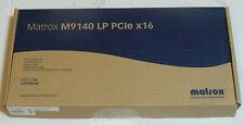 Matrox M9140-E512LAF PCI Express x16 512 MB Quad Digital Analog Low Profile NEW