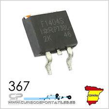 1 Unidad IRF1404 IRF1404S F1404S F1401404S MOSFET 162A / 40 V SMD TO-263