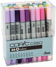 Too Copic Ciao Alcohol Marker Pen 36 Colors Set A Manga Sketch Craft From Japan
