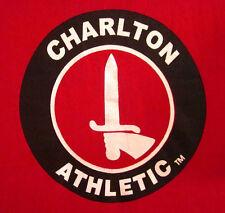 CHARLTON ATHLETIC FC youth lrg T shirt US Soccer Academy tee football club UK