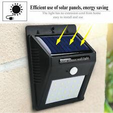 20LEDs Solar Power Road Motion Sensor Wall Light Outside Garden Lamp Light