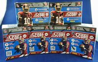 6x 2012 Score Football Blaster Box - 7 Cards/11 Packs Per Box - Luck Wilson RC??