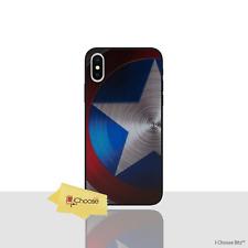 Marvel coque/housse Iphone X/10/protecteur d'écran/3D en silicone/Captain America