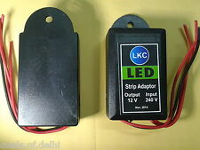 DC 12V 1 Amp Power Supply, SMPS Based Adapter PACK OF TWO