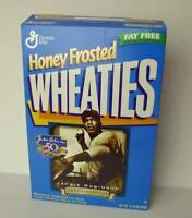 Jackie Robinson 50th Anniversary 1997 Honey Frosted Wheaties Box empty