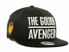 Marvel Iron man AKA The Golden Avenger New Era 9FIFTY Snapback Cap S/M