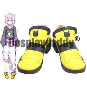 Japanese Virtual YouTuber Vtuber Nekomata Okayu Okayun Cosplay Flat Shoes X002