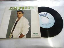 """JIM PORTO""""CARA AMICA MIA-DISCO 45 GIRI SIGLAItaly 1986"""""""