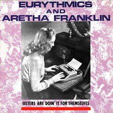Eurythmics & Aretha Franklin - Sisters Are Doing It For... - Poster & Card Frame