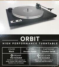 U-Turn Audio - Orbit Plus Turntable (Black). Authorized Dealer!