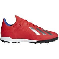 Chaussures de foot adidas X 18.3 Tf M BB9399 rouge multicolore