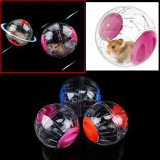 UK Hamster Exercise Ball Gerbil Pet Mouse Play Exercise Ball Blue Pink Orange
