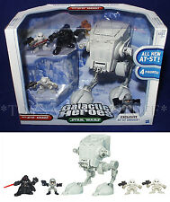 New AT-ST ASSAULT -  Star Wars GALACTIC HEROES - Vehicle & 4 Figures DARTH VADER