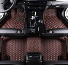 For BMW 5 Series F10 E60 520i 525i 528i 530i 535i Car Floor Mats Waterproof Auto