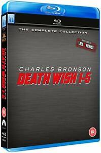 Death Wish 1-5 Blu Ray Box Set [Blu-ray] [DVD][Region 2]
