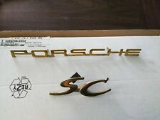 "C B SC Emblem /""Speedster/"" Gold  NEW #NS Porsche 356 A"