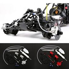 Front Wheel Hydraulic Brake System For 1/5 Scale HPI KM Baja 5B 5SC Rovan RC Car