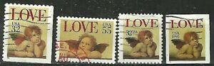 USA -  1995 - RAPHAEL'S SISTINE CHERUBS SET Used Stamps WYSIWYG