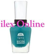 SALLY HANSEN COMPLETE SALON 5 IN 1 MANICURE NAIL VARNISH POLISH 673  BLUE STREAK