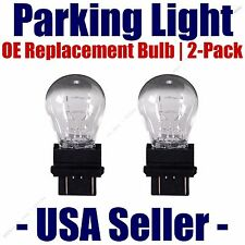 Parking Light Bulb 2-pack OE Replacement Fits Listed Ford Vehicles - 3157