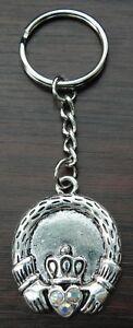 Claddagh Schlüsselring Gälisch Irisch Freundschaft Treue Friend Symbol Key Ring