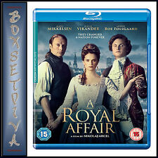 A ROYAL AFFAIR -  Mads Mikkelsen & Alicia Vikander  **BRAND NEW BLU-RAY***