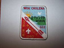 OA 322 Woa Cholena eX1989-3 Pow Wow, Mobile Area Council, Mobile, AL