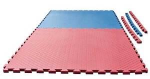 Puzzlematte Checker 1x1m x 2cm. Kampfsport Matte. Karate, Ju Jutsu,Kickboxen,MMA