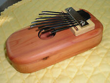 KALIMBA or THUMB PIANO of cedar-PENTATONIC SCALE-NEW-Fun for everyone.