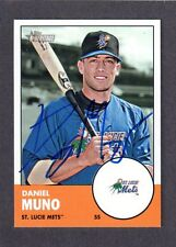 2012 HERITAGE #119  Daniel Muno  NY METS  SIGNED AUTOGRAPH AUTO COA