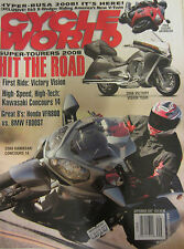 Cycle World Magazine September 2007 Hyper-Busa 2008 First Ride: Victory Vision