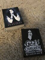 2001 Ozzy Osbourne Partial Trading Card Set 56/68. NM/M With Wrapper